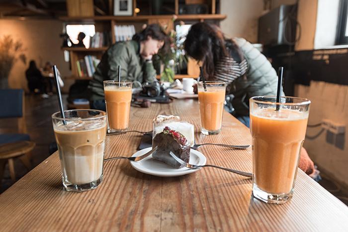 Anthracite合井店咖啡和蛋糕