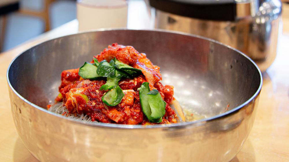 Bowl of naengmyeon