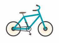 image_青い自転車