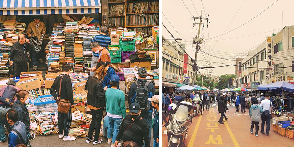 Блошиный Рынок Тонмё
