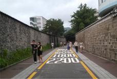 美しい石垣道